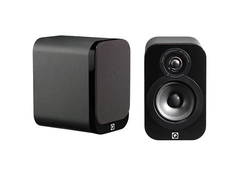 Q Acoustics 3010 Award Winning Book Shelf Speakers Sold As A Pair