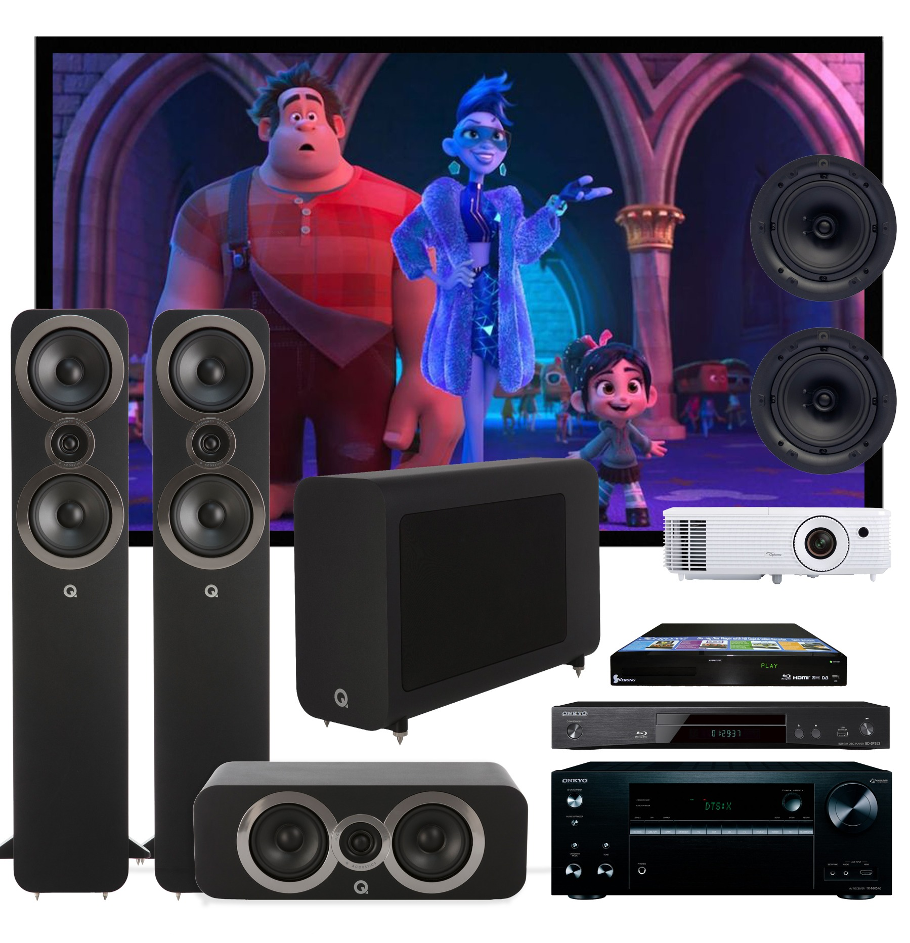 Action Pack 1 - HOME THEATRE SYSTEM | RIO Sound & Vision