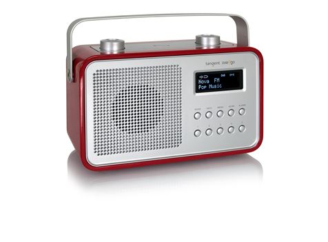 DAB 2GO - Digital Portable Radio WHITE ONLY | TANGENT