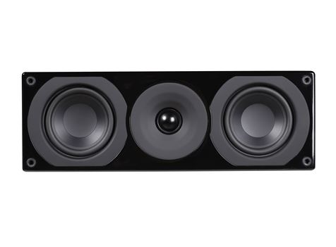 System Audio Saxo 10 Center Speaker Available In Gloss Black And