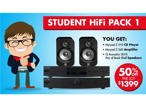 Student Pack 1 - Hi Fi Package | RIO Sound & Vision