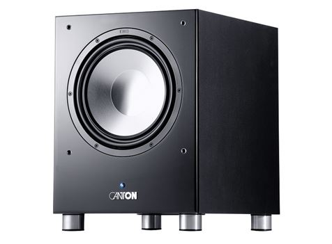 canton 80 2 subwoofer 250 watt rms compact high impact sound. Black Bedroom Furniture Sets. Home Design Ideas